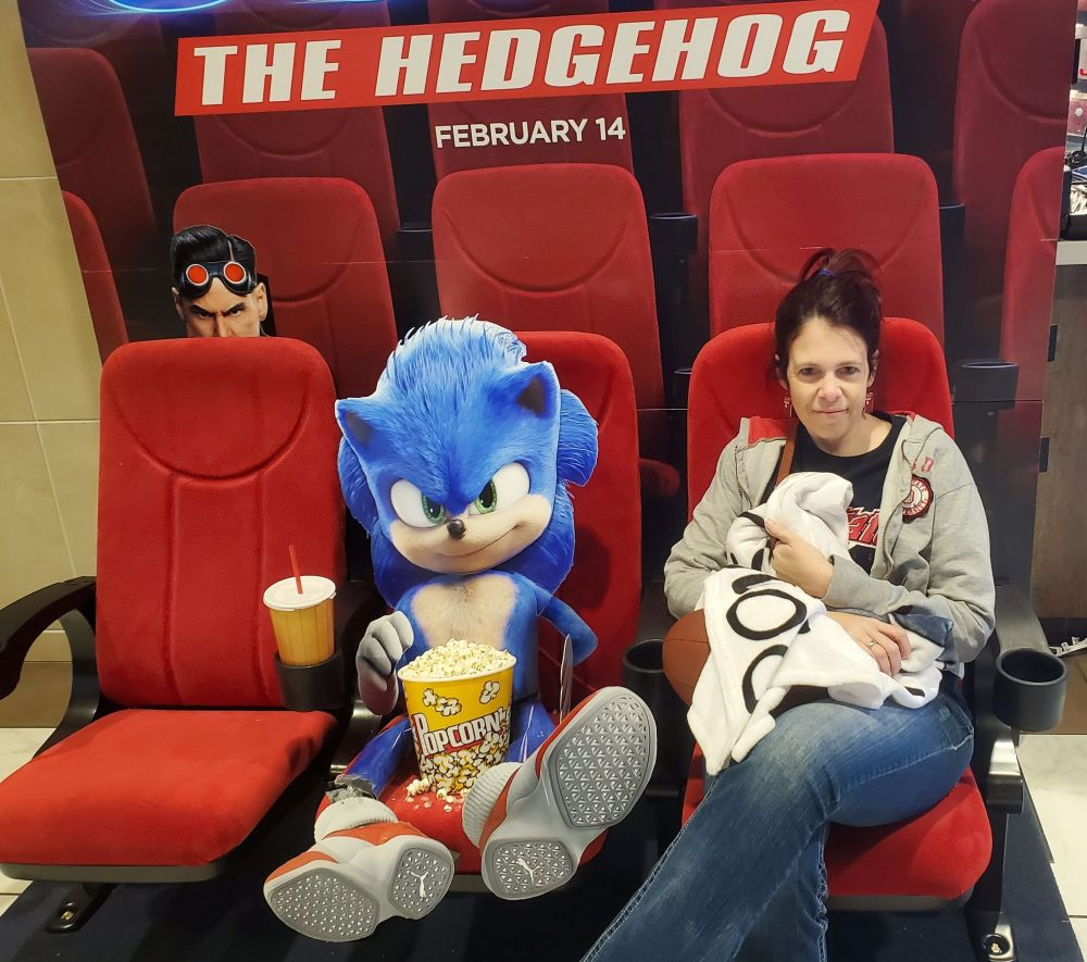 Chilling with Sonic